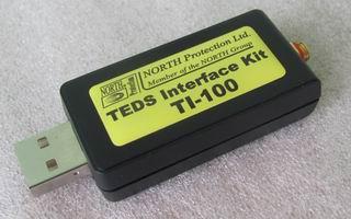 TI-100 TEDS Reader/Writer for IEPE (ICP) Sensors